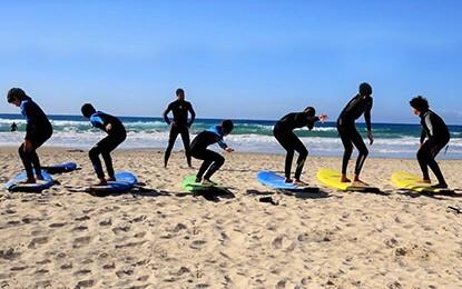 חוגי גלישה גל ים