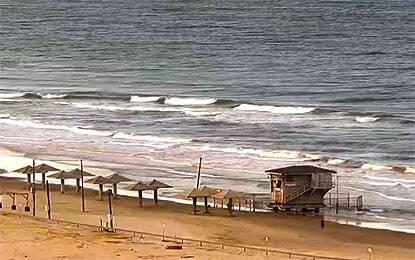 מצלמת חוף גל ים
